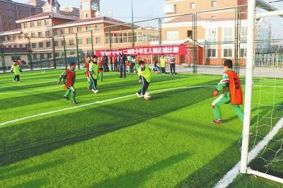 定西市漳县第二届青少年五人制足球比赛举行