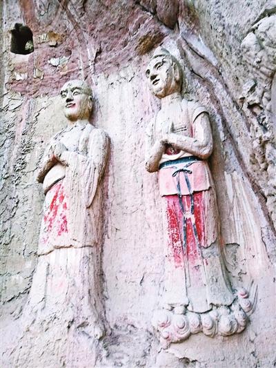 镇原石空寺:宋代石雕彩绘泥衣造像的传世之作