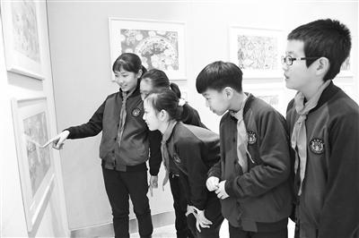 """""""放飞梦想""""——首届兰州国际儿童画展览开幕"""