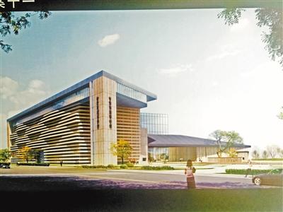 甘肃简牍博物馆建设项目获批了 选址七里河马滩