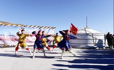 酒泉市肃北县举办骆驼文化旅游节