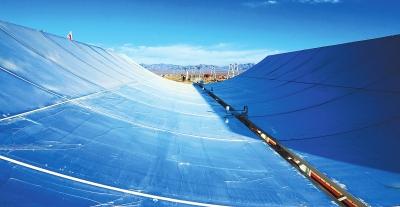 酒泉市阿克塞县首期50兆瓦高温槽式熔盐光热发电项目