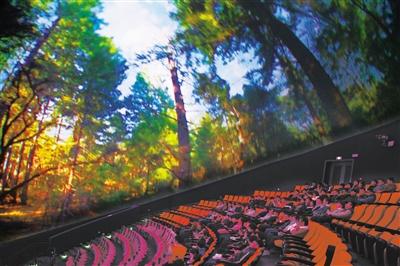 聚焦甘肃科技馆丨特效影视区 声光电技术震撼体验(图)