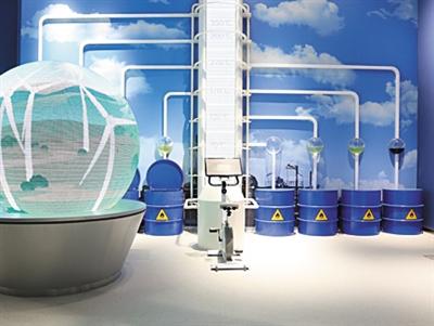 聚焦甘肃科技馆丨科技展厅甘肃特色科技展演平台