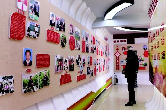 酒泉肃州区筹建好人馆 吸引众多市民参观(图)