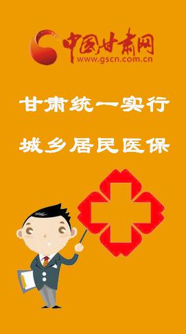 图解:甘肃城乡居民医保整改  有这些行为的要追责