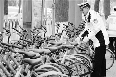 兰州警育部门联合交教约谈共享单车企业