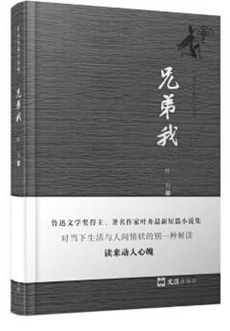 叶舟《兄弟我》荣登2017年度中国小说排行榜