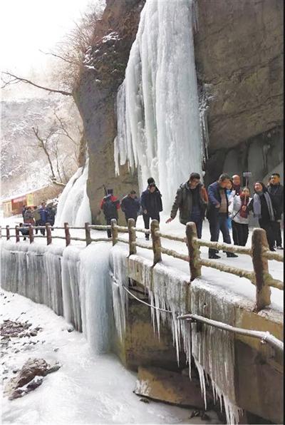 电子游戏新网址:陇南官鹅沟首届冰雪旅游节开幕(图)