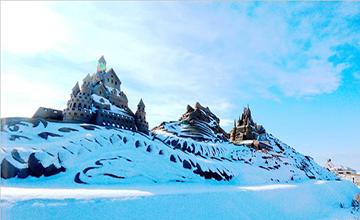 宁夏沙湖登上环球旅游广播联盟冬季旅游热力榜