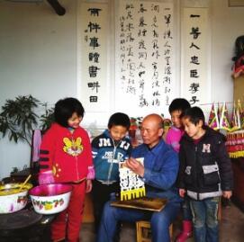 木版门神的守护者 ——探访通渭乡村年画手艺人