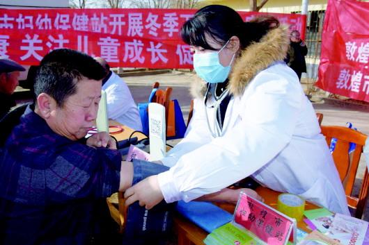 酒泉敦煌市农村冬季集中教育实践活动如火如荼开展(图)