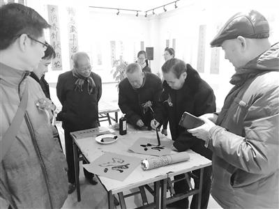 全国春联书法作品展将在兰州古玩城举办(图)