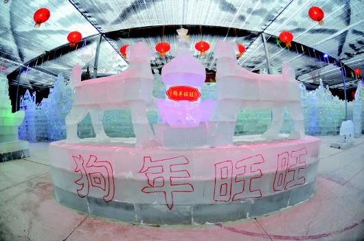 张灯结彩迎新春 酒泉城区年味浓(图)