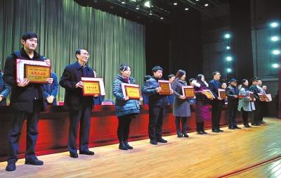 平凉市第三届微影视作品展映表彰大会举行