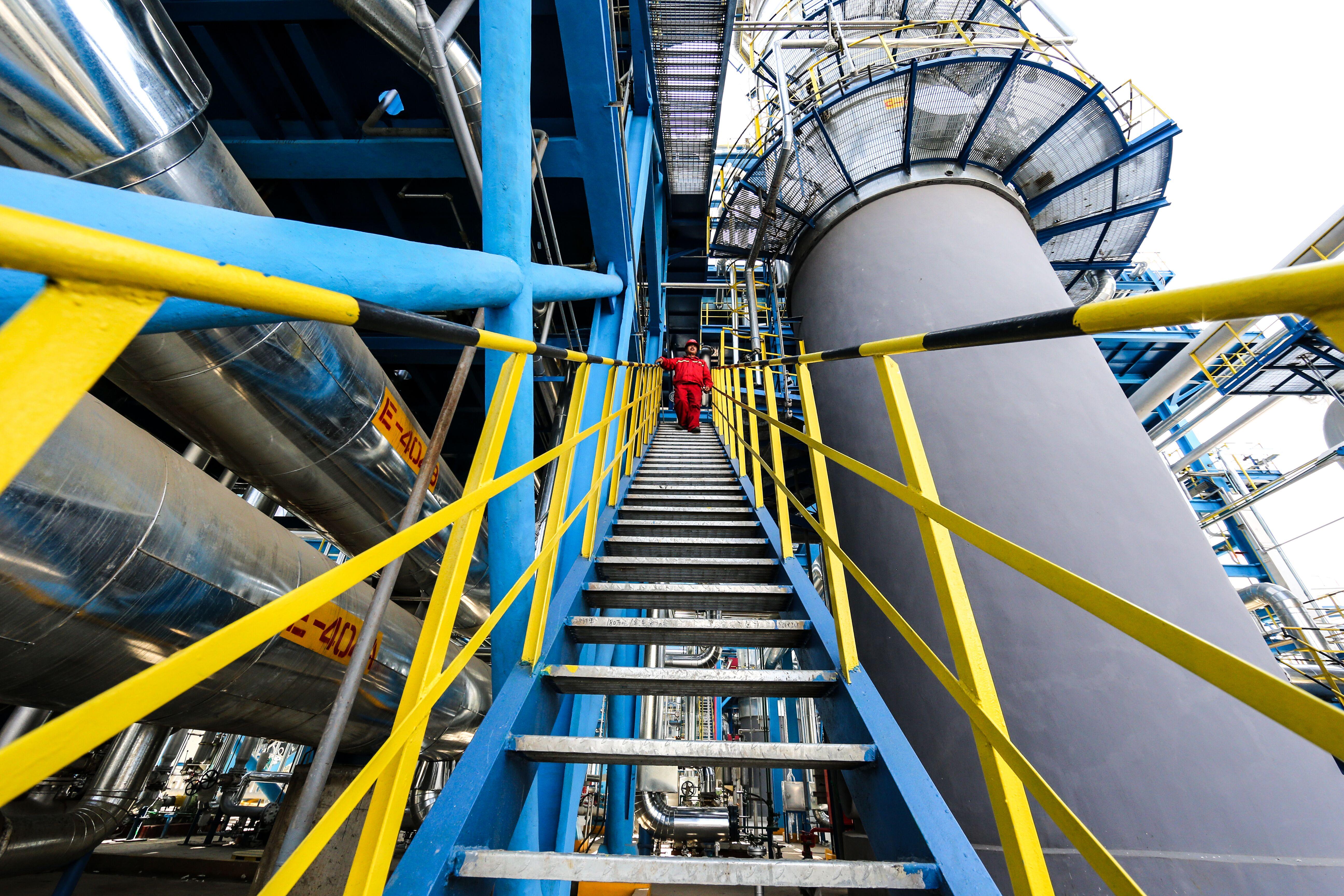 图说石化丨180万吨汽油加氢国V汽油升级改造项目