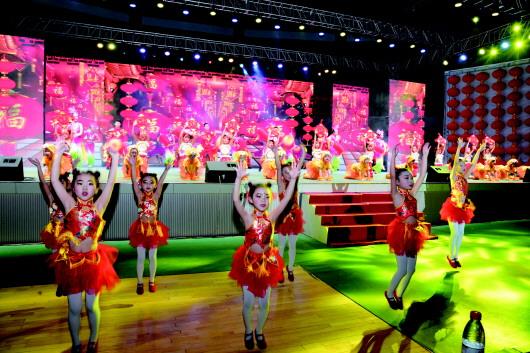 2018大众网络春晚在酒泉玉门市举行(图)