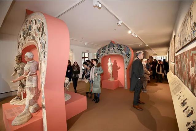 《丝路明珠:敦煌石窟在威尼斯》展...