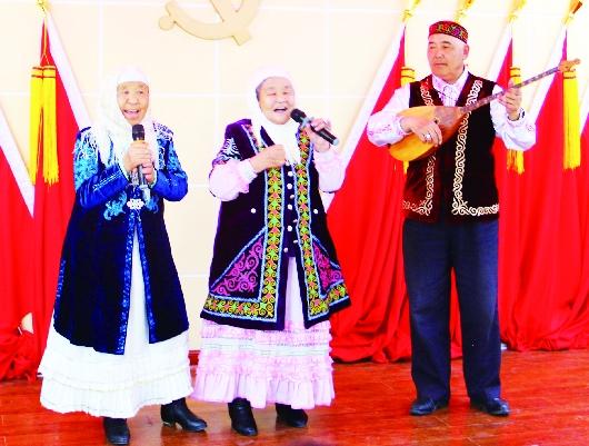 酒泉阿克塞县阿勒腾乡举办联合主题党日活动(图)