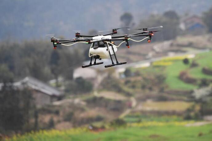 无人机助力春季农业生产