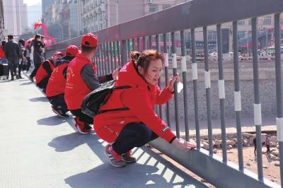 传承雷锋精神共建绿水青山 兰州市启动保护母亲河学雷锋志愿服务活动