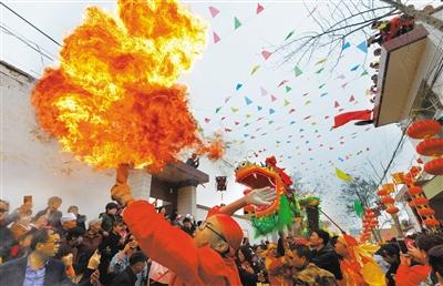 图说甘肃丨二月二,苦水社火舞新春