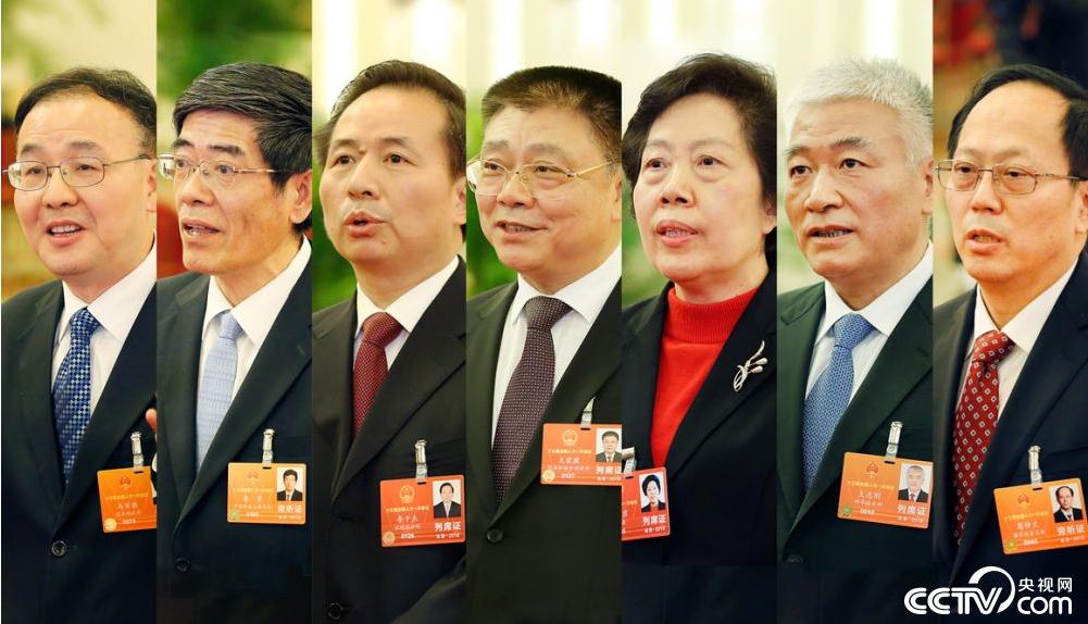 """【2018两会】多位新部长首登""""部长通道"""":传递国策民情,答问民生大计"""