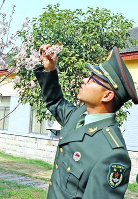 军校的春天这么美,千万莫负好时光