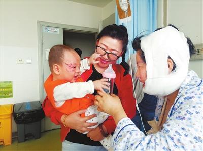 【追踪】社会各界捐款36万元那个青海宝宝,昨天出院了!