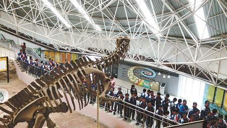 去刘家峡恐龙国家地质公园—— 探访恐龙足印化石群