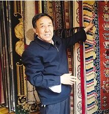 【陇原工匠】坚守传统工艺手工织毯近50载