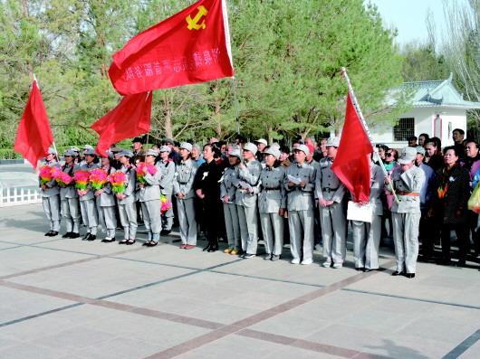 酒泉瓜州县:缅怀革命先烈 传承红色文化(图)