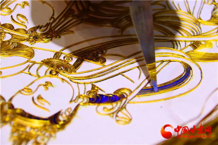 深圳文博看甘肃 ·人物|李海明掐丝珐琅画里的敦煌故事(组图)