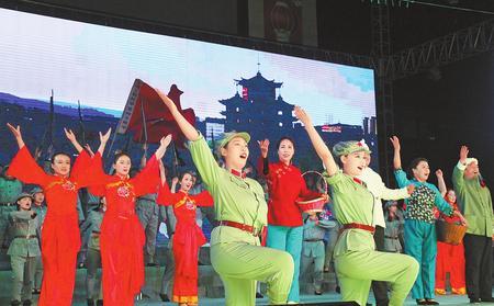 红色旅游的新名片——第七届白银会宁红色旅游文化节走笔