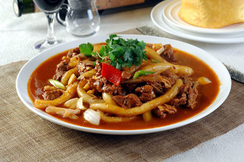 靖远羊羔肉让人想得直流口水 外地人待客的美食好菜