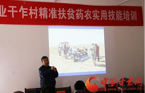 扶正药业:助力产业扶贫 种植技术培训送进村