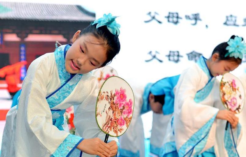 河北石家庄:传统文化 共颂家风