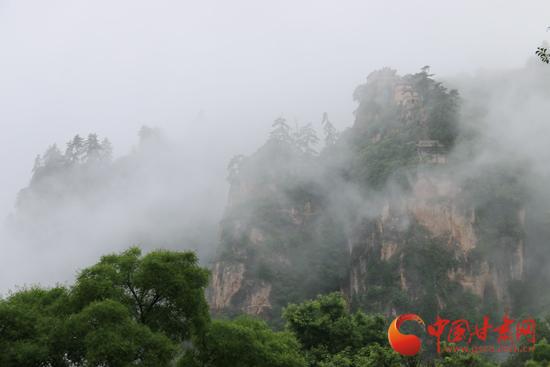 最甘肃|五一旅游去哪里 养生问道平凉崆峒山(组图)