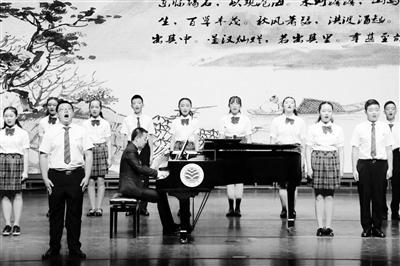 兰州中学举行古诗词唱诵专场音乐会