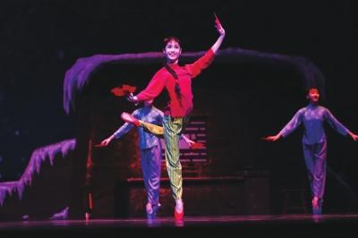 经典芭蕾舞剧《白毛女》轰动金城(图)