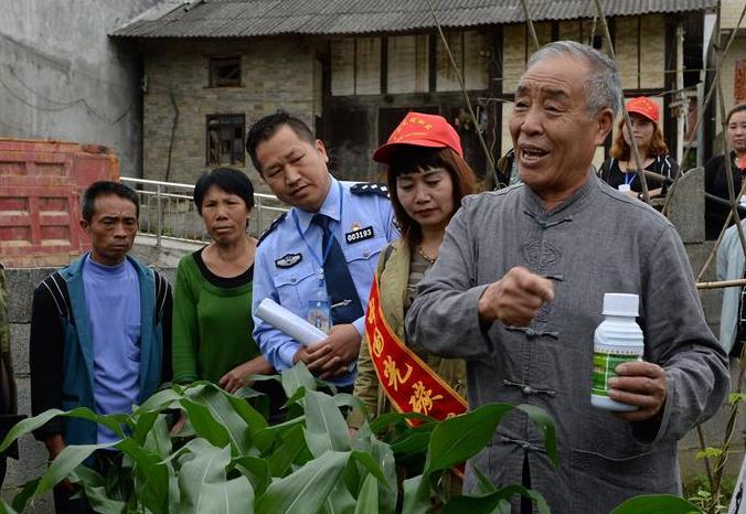 贵州:活跃在山村的民警脱贫攻坚突击队