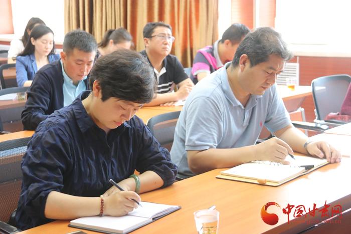 甘肃省安监局组织收看全国安全生产新闻宣传工作视频会议(图)