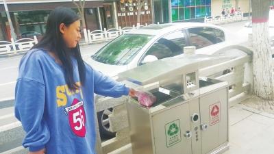 兰州:垃圾分类逐步融入百姓生活 城市环保生态文明意识渐行渐近(图)