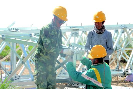 酒泉瓜州县渊泉110千伏送变电工程加速清洁能源供暖项目推进(图)