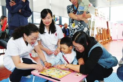 """""""厉害了,我的宝贝""""  甘肃省妇幼保健院举办儿童早期发展健康促进活动"""
