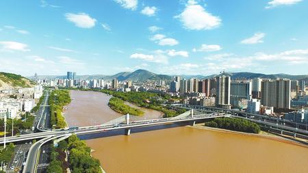 图说甘肃|兰州黄河风情线景色秀美(图)