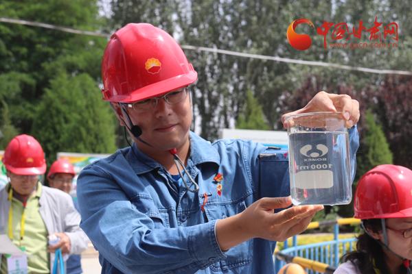 """中国石油开放日——""""走进兰州石化""""绿色环保行活动在兰举行(图)"""
