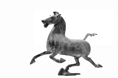 """甘肃省文物局局长马玉萍表示:提倡统一使用""""铜奔马""""名称"""