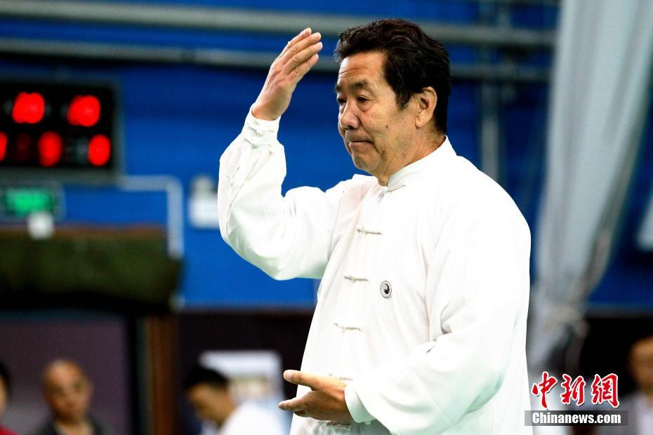 青海太极高手展示传统武术魅力