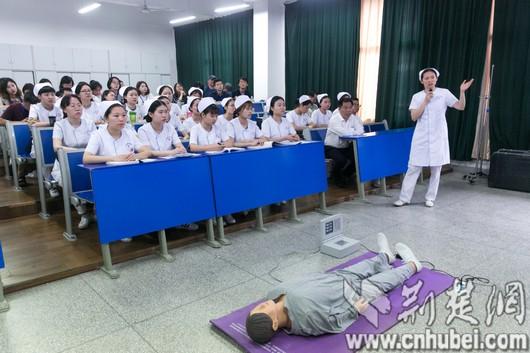 武汉铁路职业技术学院:做病人的知心朋友,用青春谱写赞歌